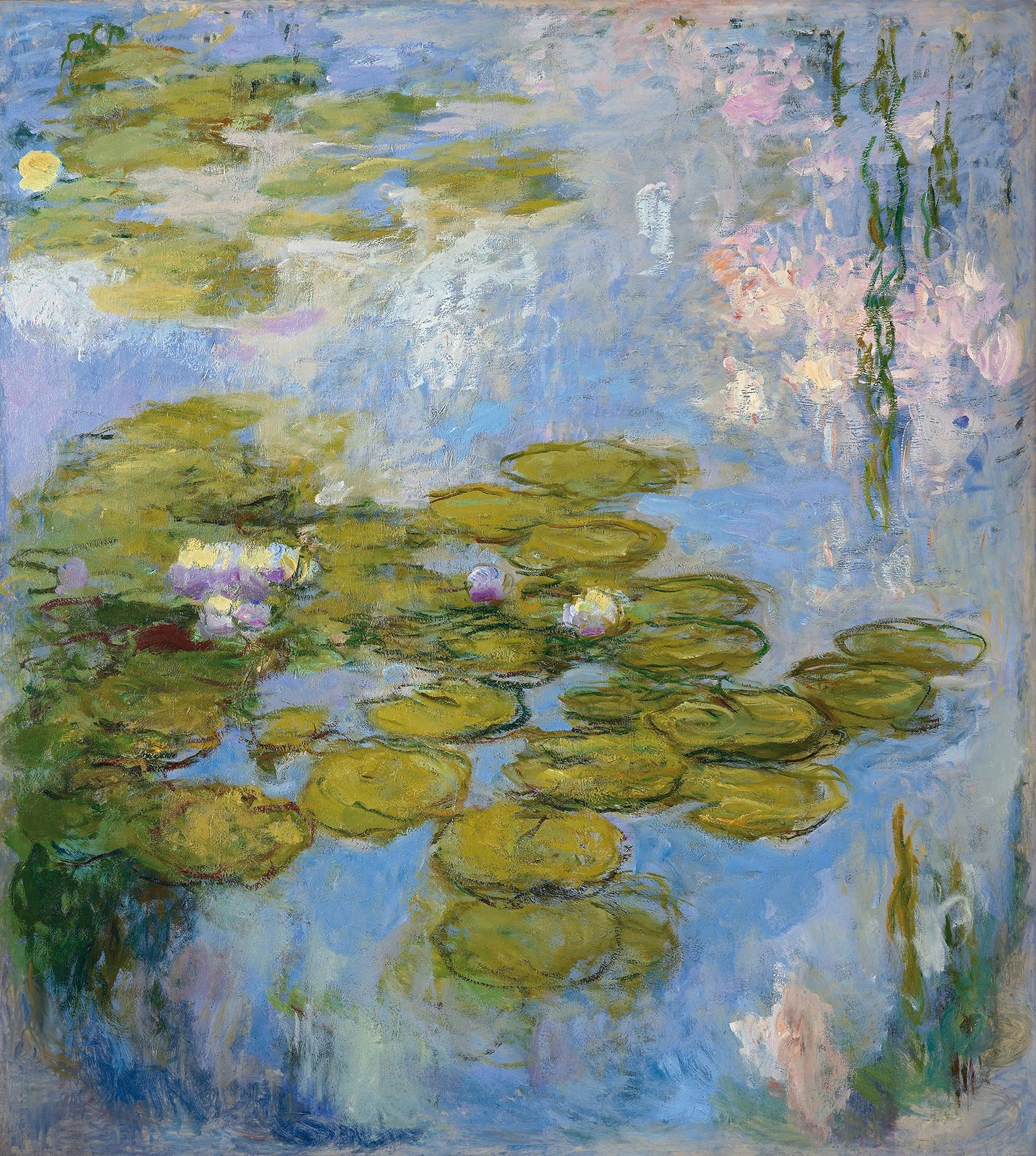 Claude Monet/Seerosen, 1916-1919/Öl auf Leinwand/Fondation Beyeler, Riehen/Basel, Sammlung Beyeler/© Fondation Beyeler, Riehen/Basel, Sammlung Beyeler; Foto: Robert Bayer