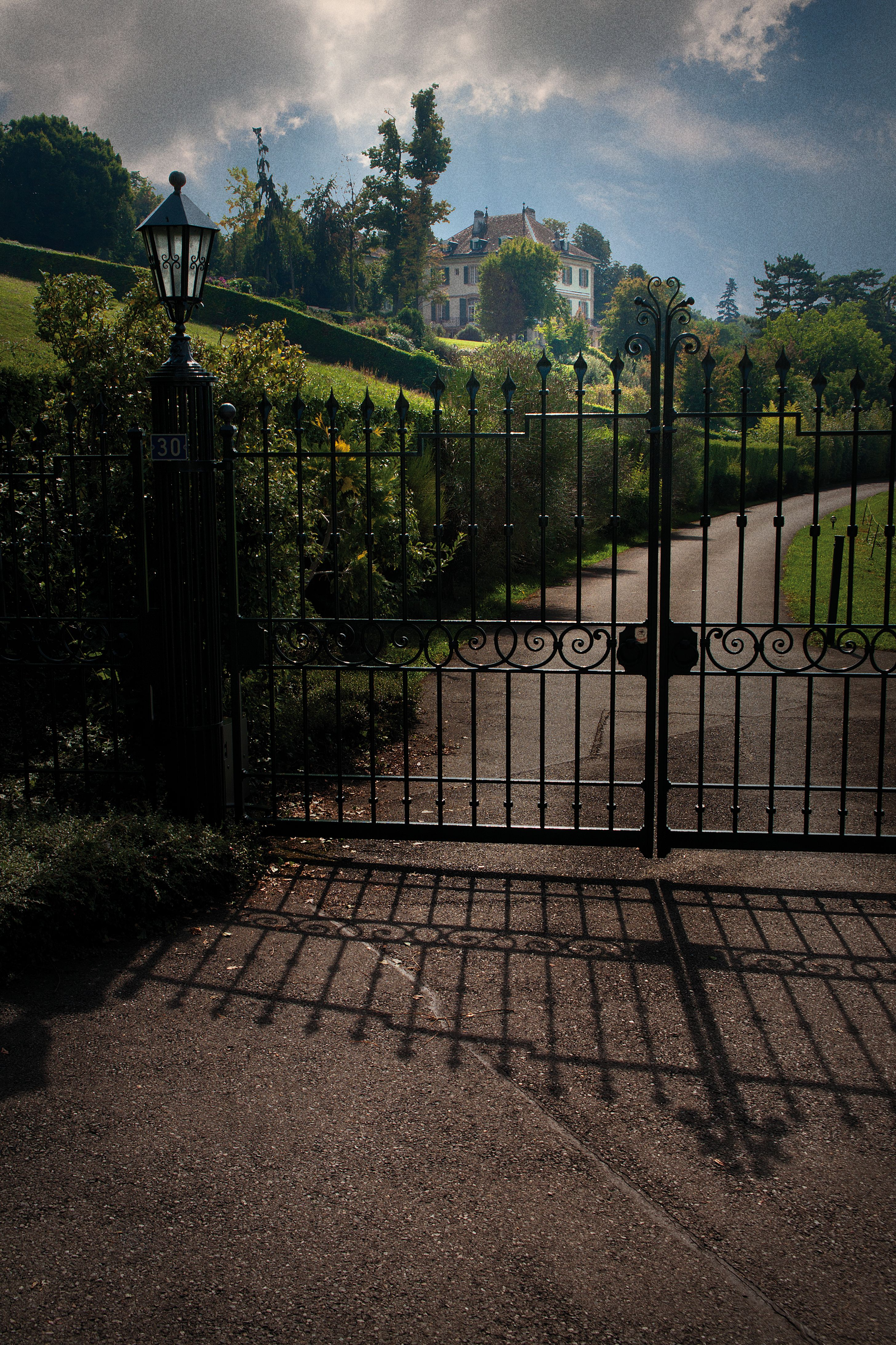 Villa Diodati in Cologny bei Genf (Schweiz)