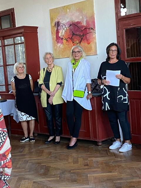 Eva Riebler, Moje Menhardt, Christl Fötsch und Ingrid Schlögl Foto ©Stoiser-NÖN
