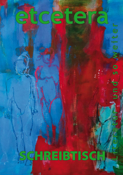 "Cover ©Eva Riebler Acryl auf Leinwand: ""Eva und Adam"" 70x70 cm Ausschnitt"