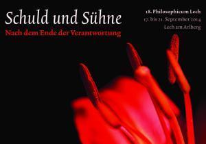 18. Philosophicum Lech; Schuld und Sühne; Berichte: Gertraud Artner
